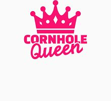 Cornhole queen Womens Fitted T-Shirt