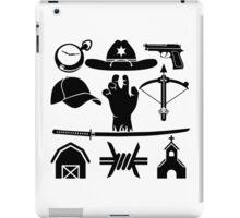 The Walking Dead - Symbols iPad Case/Skin