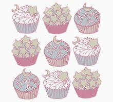 Dreamy Cupcakes One Piece - Short Sleeve