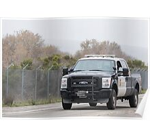 Sheriff's Truck Poster
