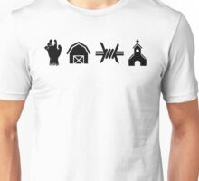 The Walking Dead - Locations Unisex T-Shirt