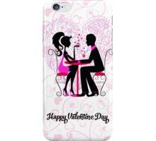 Happy Valentine Dinner iPhone Case/Skin