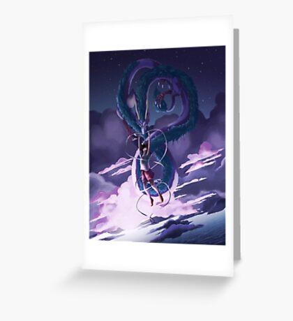 Spirited Away Print Greeting Card