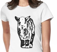 Baby Goat Womens Fitted T-Shirt