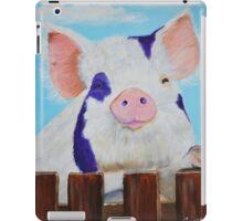 Furry Pig iPad Case/Skin