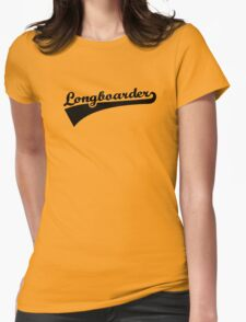 Longboarder Womens Fitted T-Shirt