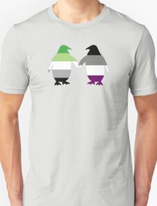 Aro Ace Pride Penguins T-Shirt
