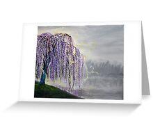 Magic Willow Greeting Card