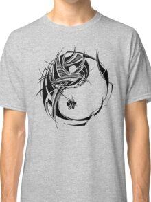Yin Yang Black Classic T-Shirt