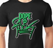 Dope as fk - version 1 - gradient Unisex T-Shirt