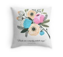 Stephen King Quote Throw Pillow