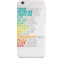 Love Quotes iPhone Case/Skin