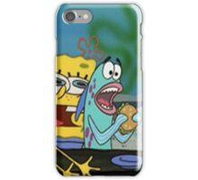 Spongebob funny iPhone Case/Skin