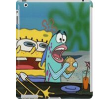 Spongebob funny iPad Case/Skin