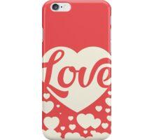 Love Red iPhone Case/Skin