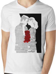 Yin Needs Yang 2.0 Mens V-Neck T-Shirt