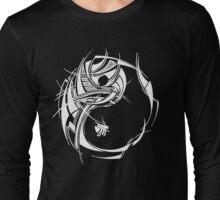 Yin Yang White Long Sleeve T-Shirt
