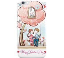 Peaceful Valentine Day iPhone Case/Skin