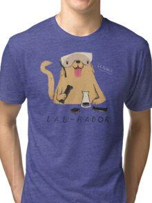 lab-rador Tri-blend T-Shirt