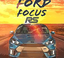Ford Focus RS by FrankYam