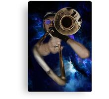 Trombone by Anne Winkler Canvas Print