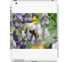 Bumble Bee in the Monk's Hood iPad Case/Skin