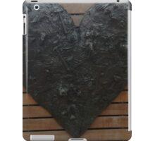 heart sculpture iPad Case/Skin