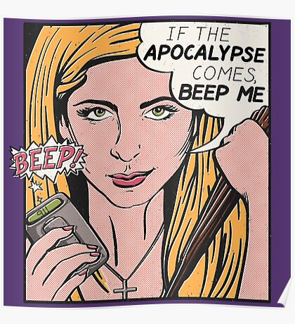Pop Art Slayer Poster