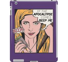 Pop Art Slayer iPad Case/Skin