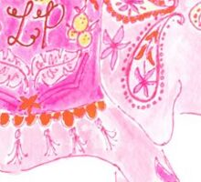 Lilly Pulitzer Elephant  Sticker