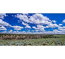 Big Sky and Sage Brush Photographic Print