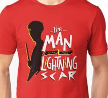 The Man with the Lightning Scar Unisex T-Shirt