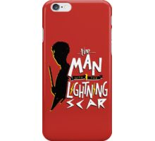 The Man with the Lightning Scar iPhone Case/Skin