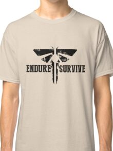 "The Last of Us ""Endure and Survive"" Firefly Emblem Classic T-Shirt"