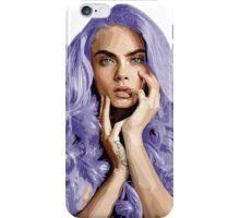 Frozen Purple Hair iPhone Case/Skin