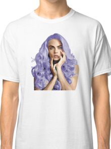Frozen Purple Hair Classic T-Shirt