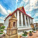 Wat Pho Grandeur by Rod Kashubin