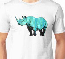 Polka Dotted Unicorn Unisex T-Shirt