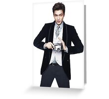 ~LEE MIN HO~ Greeting Card