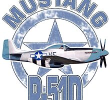 Mustang P51D by rustyredbubble