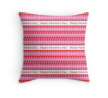 Happy Valentine Days - Duvets Throw Pillow