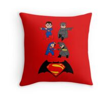 WORLDS GREATEST FUSION Throw Pillow