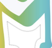 Michigan Block M- Rainbow Sticker