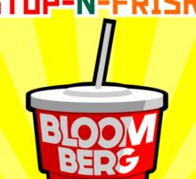 Bloomberg's Gulp Sticker