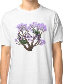 Jacaranda Tree Classic T-Shirt
