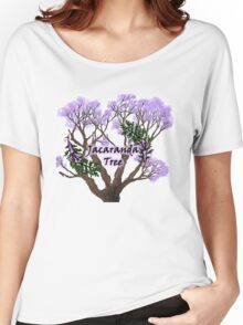 Jacaranda Tree Women's Relaxed Fit T-Shirt