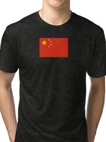 China Flag Sticker - Big Red Chinese Duvet Cover - Sport Team T-Shirt Tri-blend T-Shirt