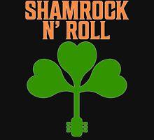 Shamrock N Roll T Shirt Womens Fitted T-Shirt