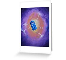 The Tardis - Acrylic Greeting Card