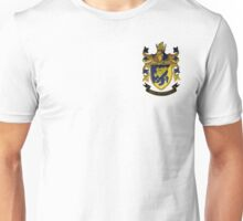 Haliski Family Coat of Arms, Version 2 with Motto Unisex T-Shirt